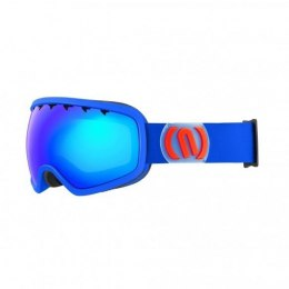 GOGLE NEON BRIGHT BLUE ROYAL/RED SZYBA BLUE CAT3 MODEL WYSTAWOWY