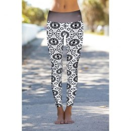 LEGINSY DAMSKIE BRIGHT BOHO ALL SEEING EYE LEGGINS