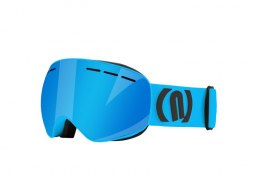 GOGLE NEON ALIEN CYAN / BLACK FLUO BLUE CAT3 + SZYBA S1 CAT.1