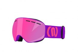 GOGLE NEON ALIEN PURPLE FLUO BLUE CAT3 + SZYBA S1 CAT.1