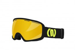 GOGLE NEON VENUS BLACK/YELLOW FLUO SZYBA GOLD CAT3