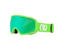 GOGLE NEON VENUS GREEN FLUO/ BLACK SZYBA GREEN CAT3